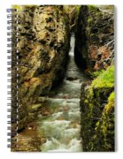 Rushing Through The Chasm Spiral Notebook