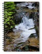Rushing Water On Mt Spokane Spiral Notebook