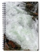 Rushing Waters Glen Alpine Creek Spiral Notebook