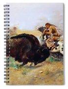 Russell: Buffalo Hunt Spiral Notebook