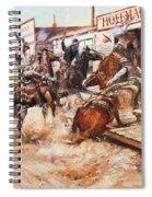 Russell Cowboy Art, 1909 Spiral Notebook