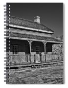 Russell Home - Bw Spiral Notebook