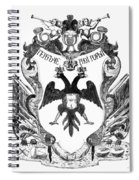 Russia: Coat Of Arms Spiral Notebook
