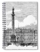 Russia: St. Petersburg, 1881 Spiral Notebook