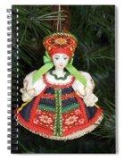 Russian Folk Ornament Spiral Notebook