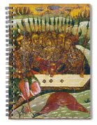 Russian Icon: Dice Players Spiral Notebook
