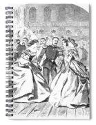 Russian Visit, 1863 Spiral Notebook