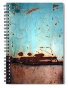 Rust And Paint 1 Spiral Notebook