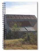 Rusted Barn Spiral Notebook