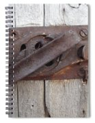 Rusted Latch Spiral Notebook