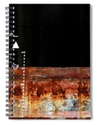 Rusted Layer Spiral Notebook