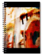 Rusted Paint Spiral Notebook
