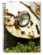 Rusted Volkswagen Spiral Notebook