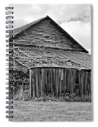 Rustic Charm Monochrome Spiral Notebook