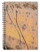 Rustic Landscape Spiral Notebook