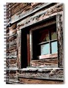 Rustic Portal Spiral Notebook
