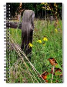 Rustic Road Charm Spiral Notebook