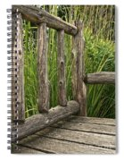 Rustic Seating Spiral Notebook