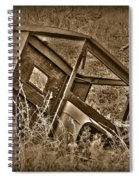 Rusting Away Spiral Notebook