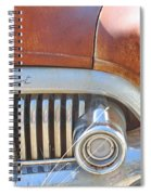 Rusty Abandoned Old Buick Eight Spiral Notebook