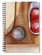 Rusty Abandoned Old Car Spiral Notebook