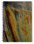 Rusty Abstract Spiral Notebook