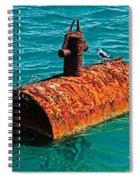 Rusty Bobber Spiral Notebook