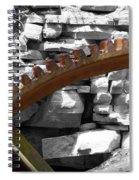 Rusty Cog Spiral Notebook