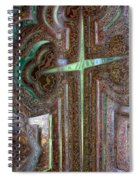 Rusty Cross Spiral Notebook