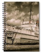 Rusty Duke Spiral Notebook