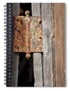Rusty Hinge Spiral Notebook