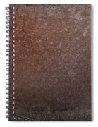 Rusty Iron Spiral Notebook