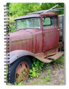 Rusty Is Retired Spiral Notebook