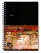 Rusty Layers Spiral Notebook