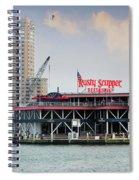 Rusty Scupper Spiral Notebook