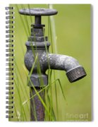 Rusty Water Supply Point Spiral Notebook