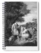 Ruth & Boaz Spiral Notebook