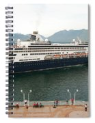 Ryndam Vancouver Port 1 Spiral Notebook
