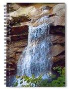 Sabbath Day Waterfall Spiral Notebook
