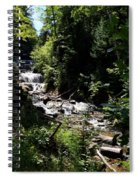 Sable Falls Grand Marais Mi Spiral Notebook
