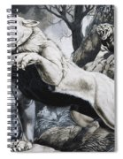 Sabre-toothed Tigers Spiral Notebook