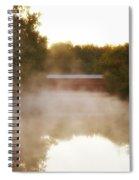 Sachs Covered Bridge In The Mist Spiral Notebook