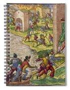 Sack Of Cartagena, C1544 Spiral Notebook