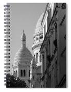 Sacre Coeur View Spiral Notebook