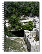 Sacred Cenote Spiral Notebook