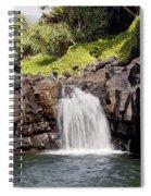Sacred Pool Waterfall Spiral Notebook