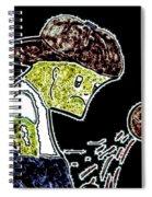Saddened Spiral Notebook