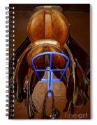 Saddles Spiral Notebook