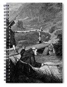 Sadler: Fishing, 1875 Spiral Notebook