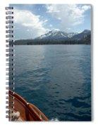 Safari Rose.on Lake Tahoe Spiral Notebook